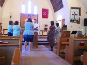 Installation of Sunday School Staff