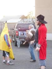 An appearance by a banana!