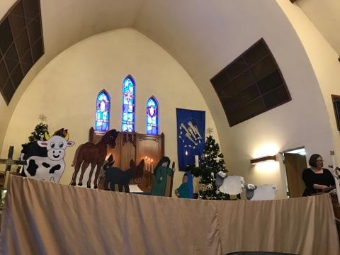 Puppet Nativity!