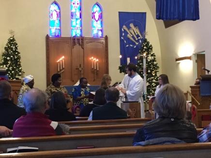 Baptism of Janet Lwakihugo