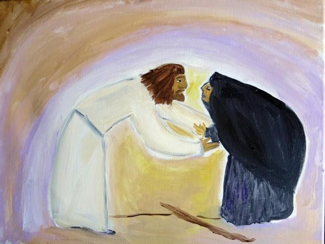 Bent Woman Healing