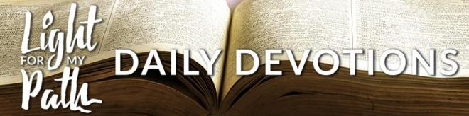 Daily Devotions Heading for Website