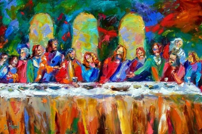Colorful Lord's Supper