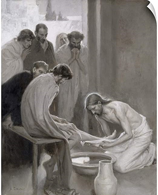 Foot washing 2