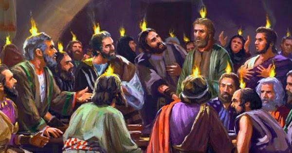 Pentecost Flames