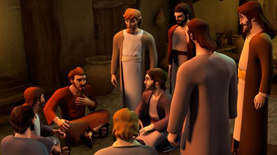 Peter visits Cornelius