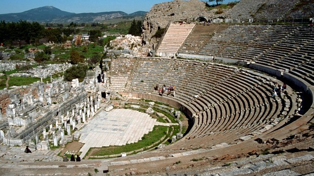 The Theater in Ephesus
