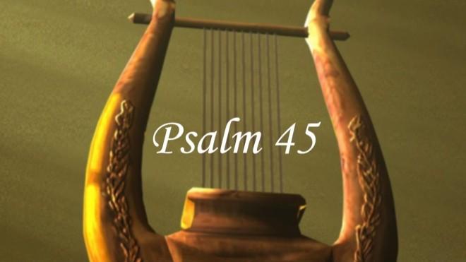 Psalm 45 harp