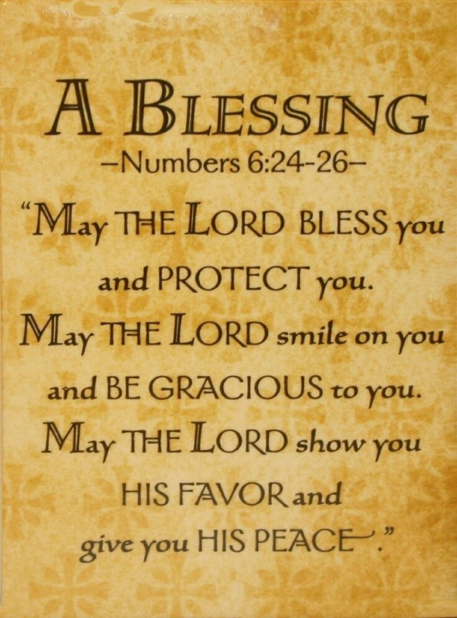 Numbers Blessing